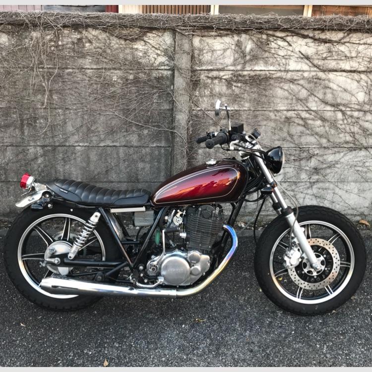 ヤマハ SR400 車体 RH01J サンバースト カスタム キャスト 神奈川県