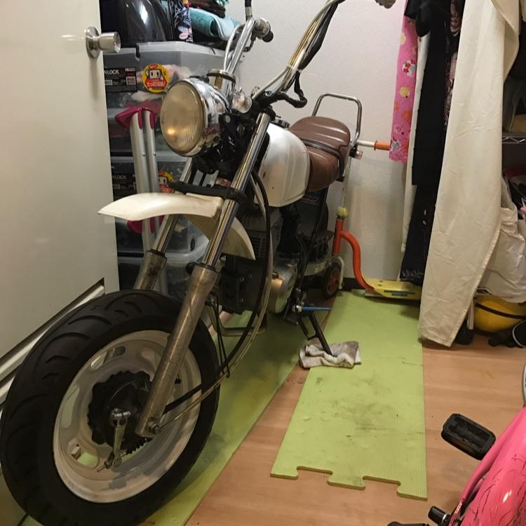 エイプ50 cc  車体