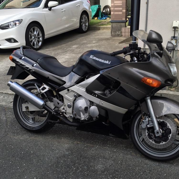 カワサキ ZZR400 N9 エンジン腰上OH タイヤ新