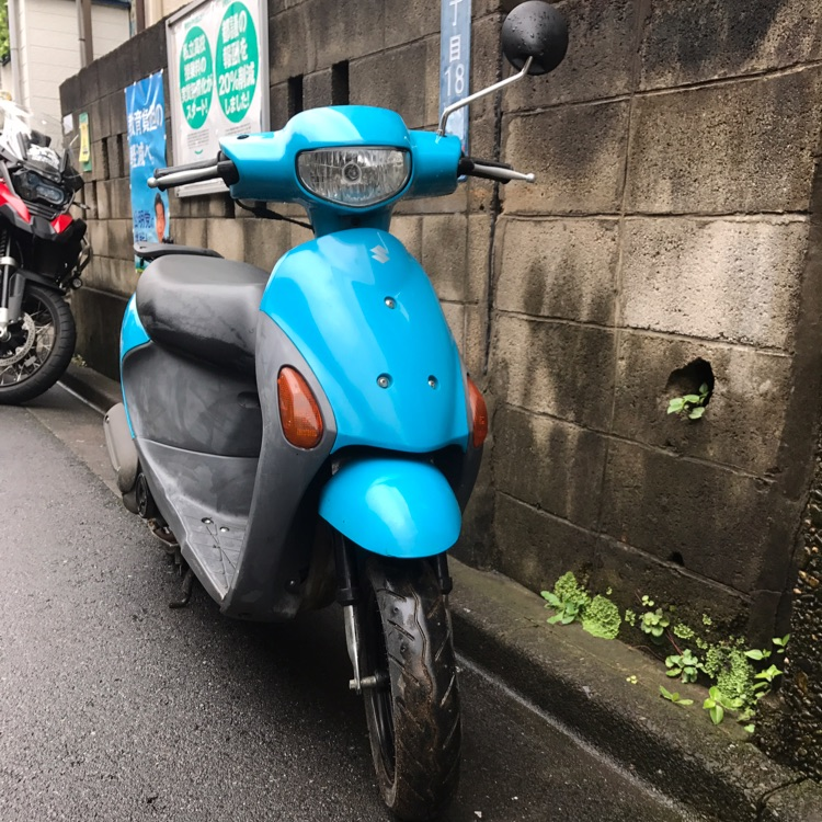 スズキ SUZUKI レッツ4 lets4 実働車