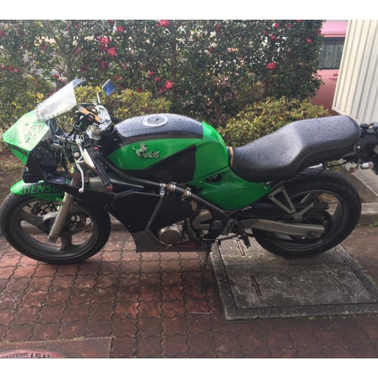 世界に一台のバイク バリオス250 1型改
