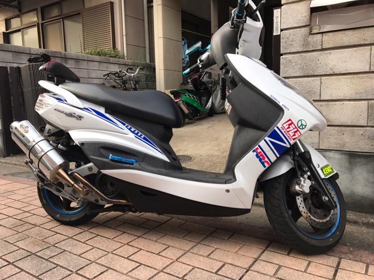 低走行 シグナスx 125cc 東京