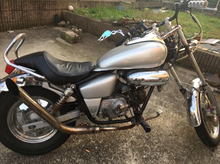 マグナ50 原付50cc