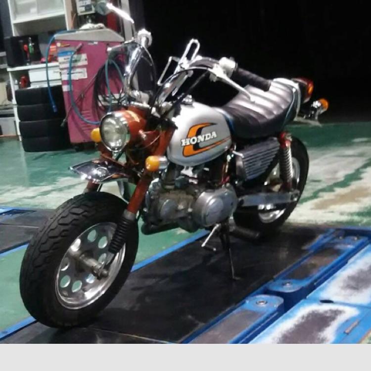 モンキー カスタム 85cc 4L