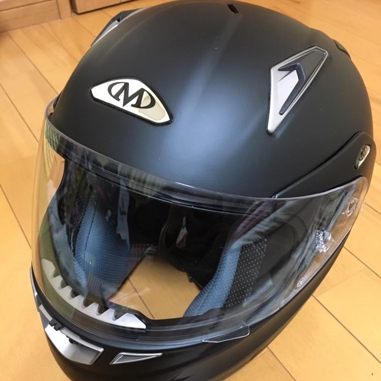 システムヘルメット マットブラックMサイズ