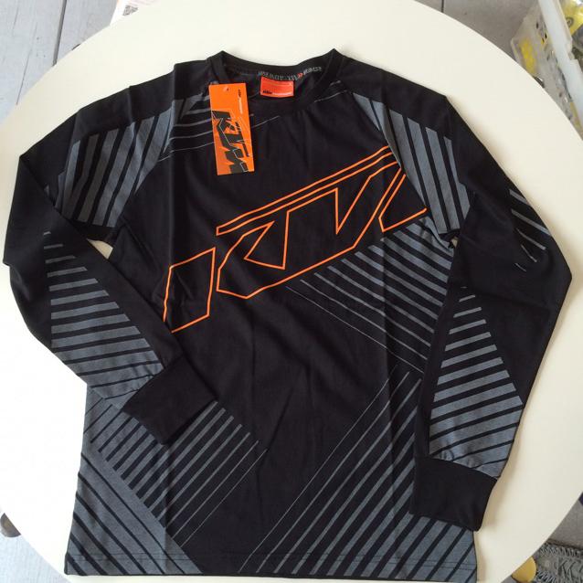 KTM ロングTシャツSサイズ