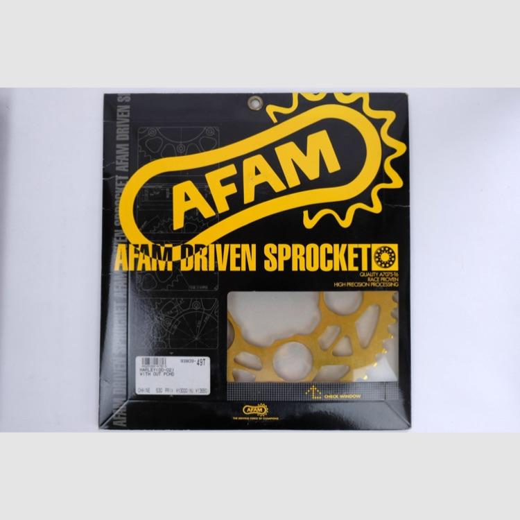AFAM Fスプロケ ハーレー用 530-49T