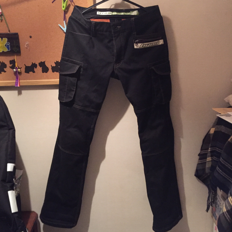 D3O CARGO PANTS WARM LAYERD
