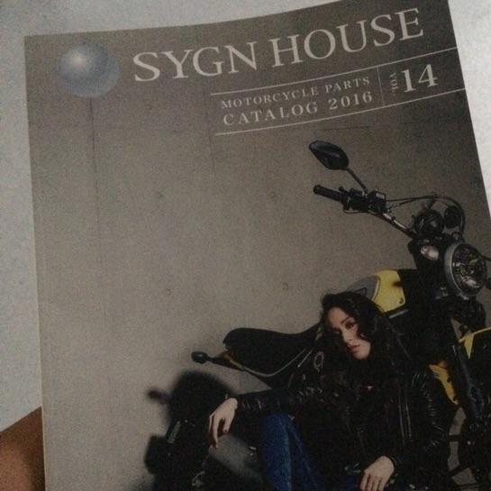 SYGN HOUSE パーツカタログ 2016