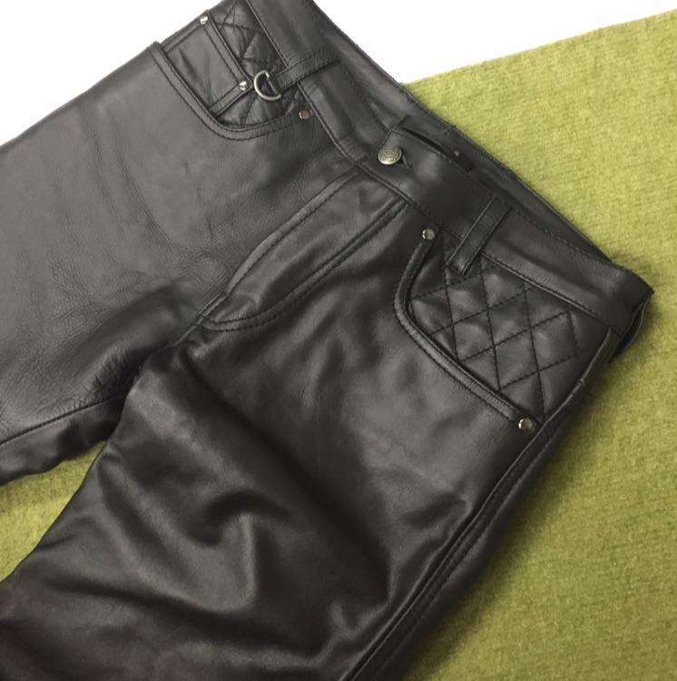 Liugoo Leathers革パンツ 30インチ