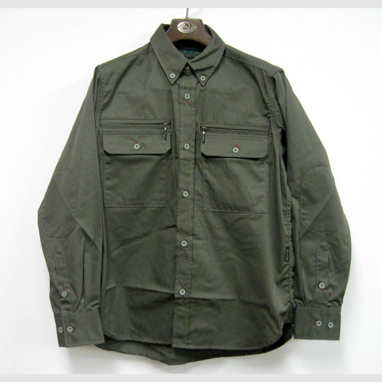 ワークシャツ(カーキ、L)/ TWENTY NINE
