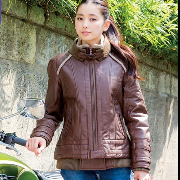 【レディース】ロッソスタイルラボ フェイクレザージャケット S