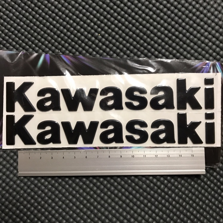 気まぐれ値下中!kawasaki 3D ロゴ