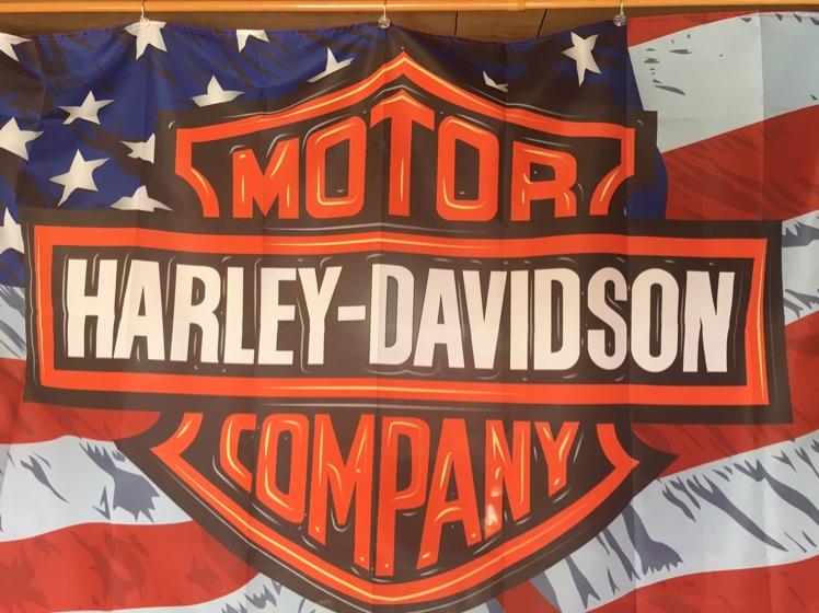 ★Harley-Davidson ハーレーフラッグ、タペストリー★