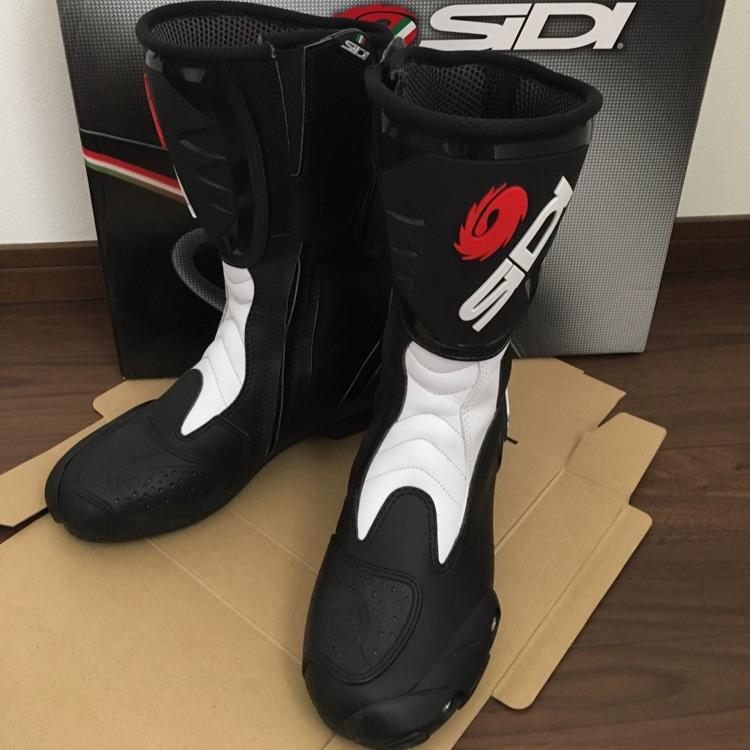 【値下げ】SIDI オンロードブーツ FUSION ブラック/ホワイト