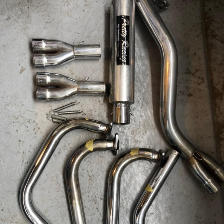 バリオス250 番長管 プリティー管