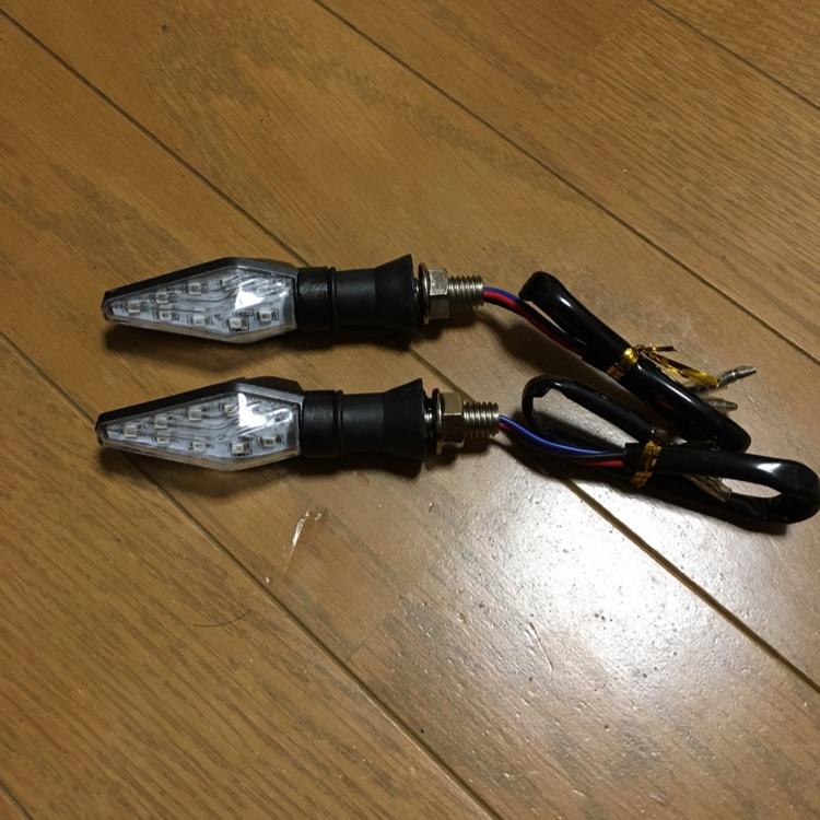 バイク用 12V LEDウィンカー 2個