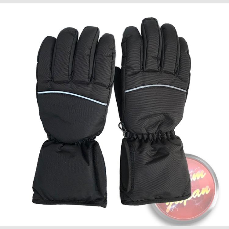 ホットグローブ 手袋 乾電池タイプ ヒーターグローブ Lサイズ バイク スキー等