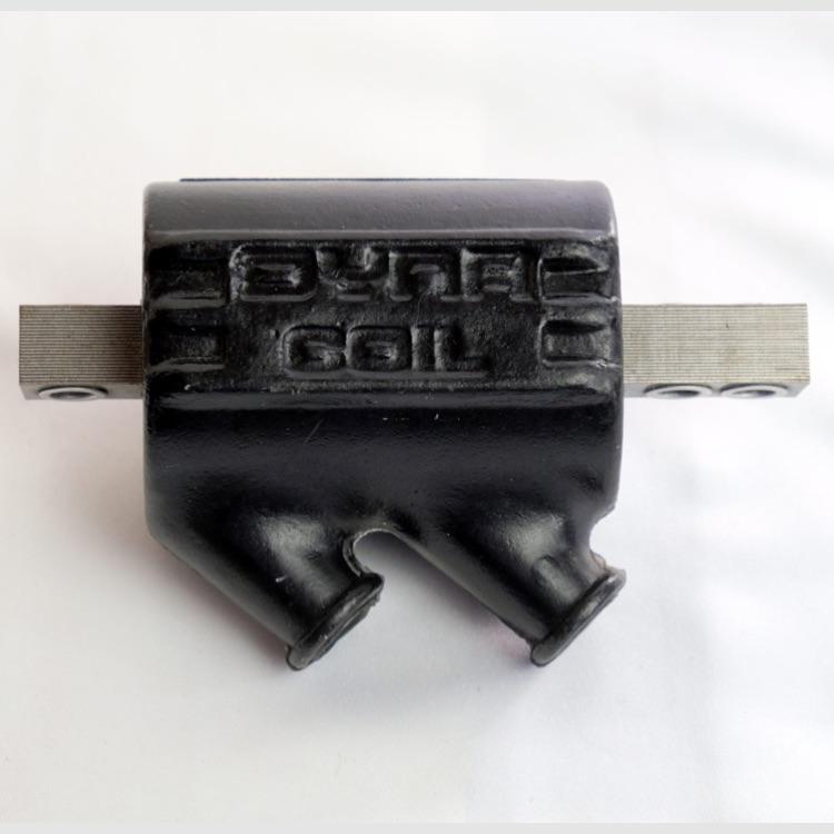 DYNATEK 汎用イグニッションコイル 5Ω デュアル出力 黒