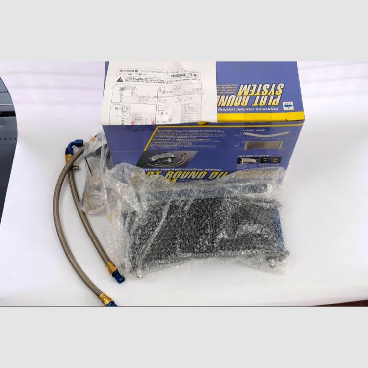 PLOT ラウンドオイルクーラーキット ZRX1100 9ROW