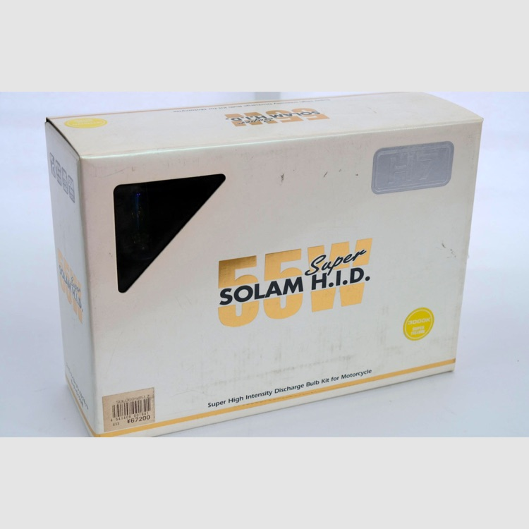 H.I.D.   SOLAM HID 55W H7/3000K/KIT