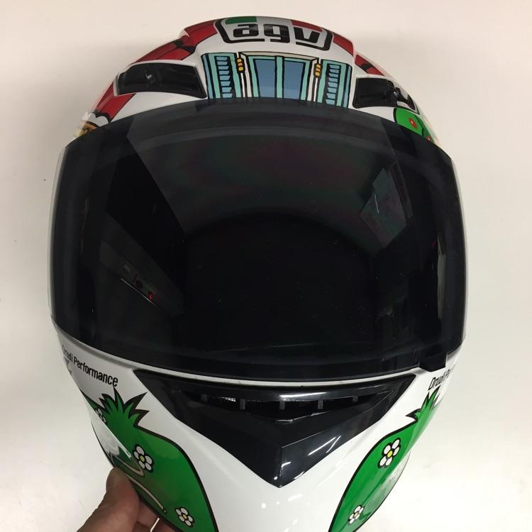 ロッシ レプリカヘルメット L AGV K-3 HOUSE