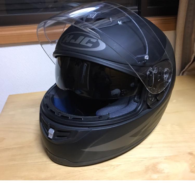 HJCインナーバイザー付きヘルメット