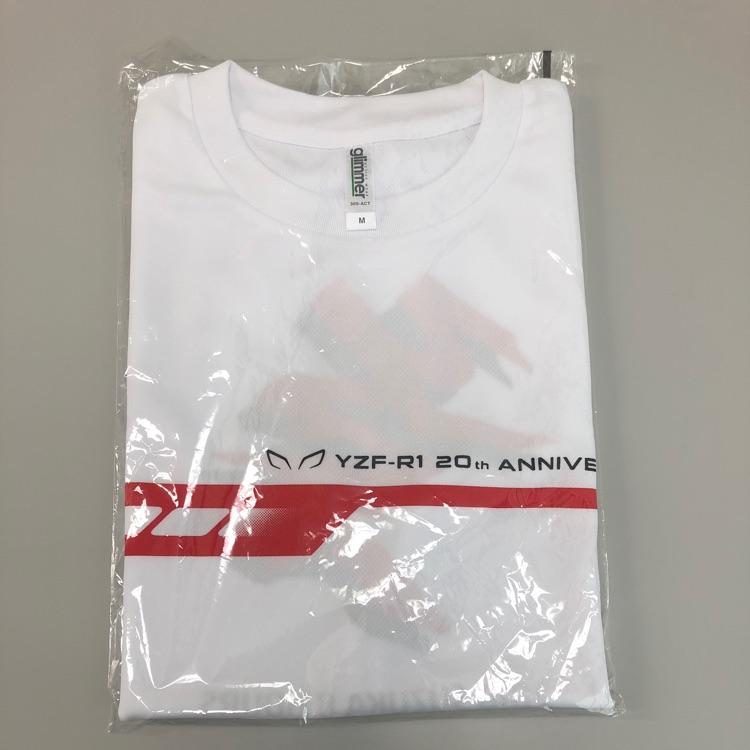 YZF- R1/20周年 鈴鹿8耐 限定Tシャツ Mサイズ /YAMAHA/ヤマハ