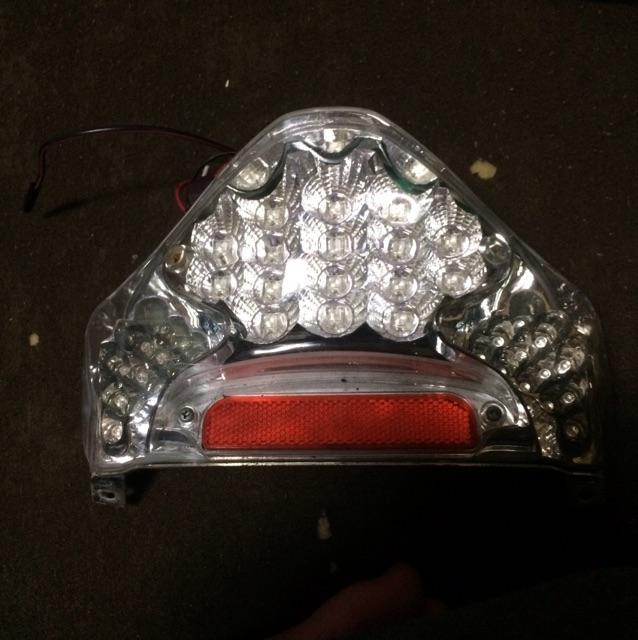 アドレスv125G LEDテールランプ