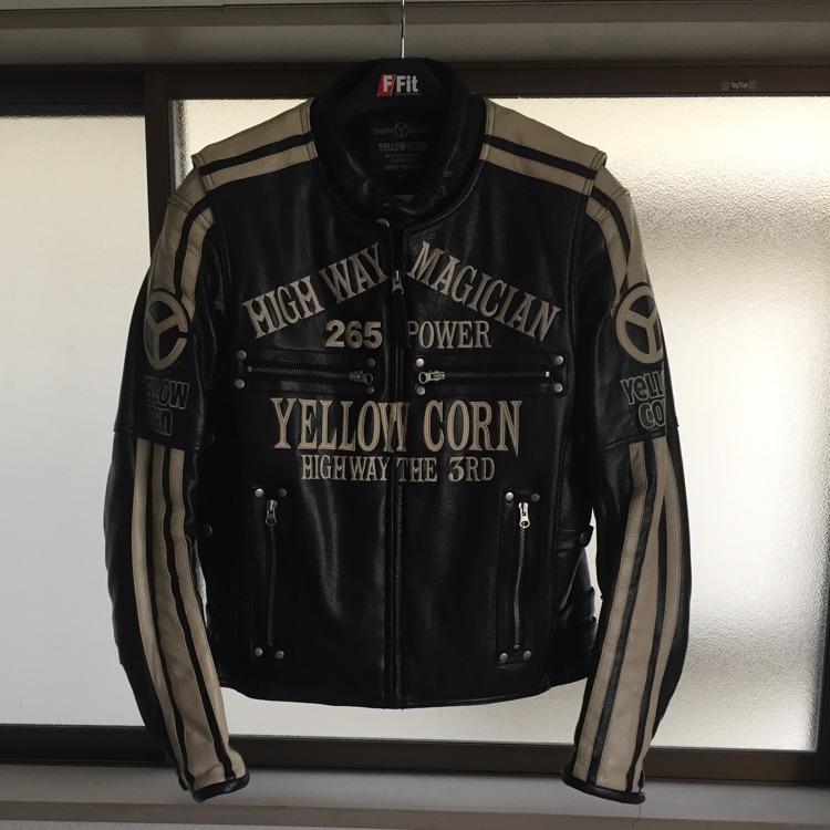 Yellow corn ジャケット