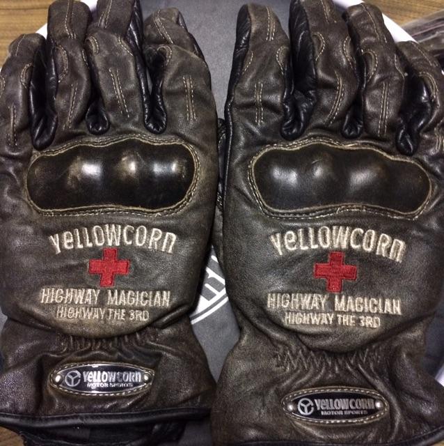 イエローコーン冬用手袋