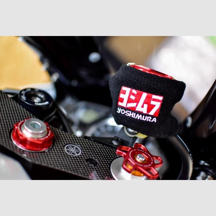 【期間限定】大幅値下げ!ヨシムラ 汎用 ブレーキマスターシリンダーカバー 新品!