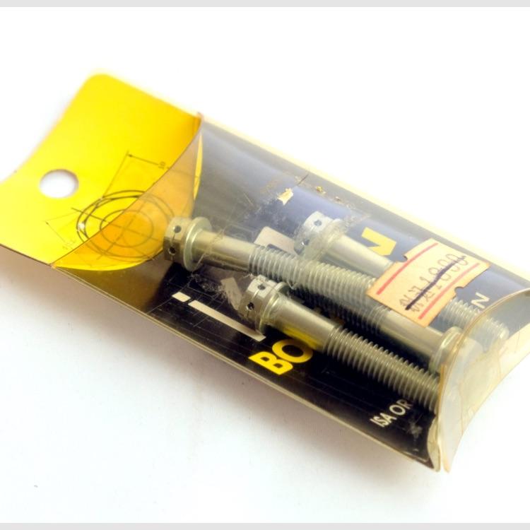 ISA フランジ6角ボルト M6 x 35 x P1.0 4個 アルミ