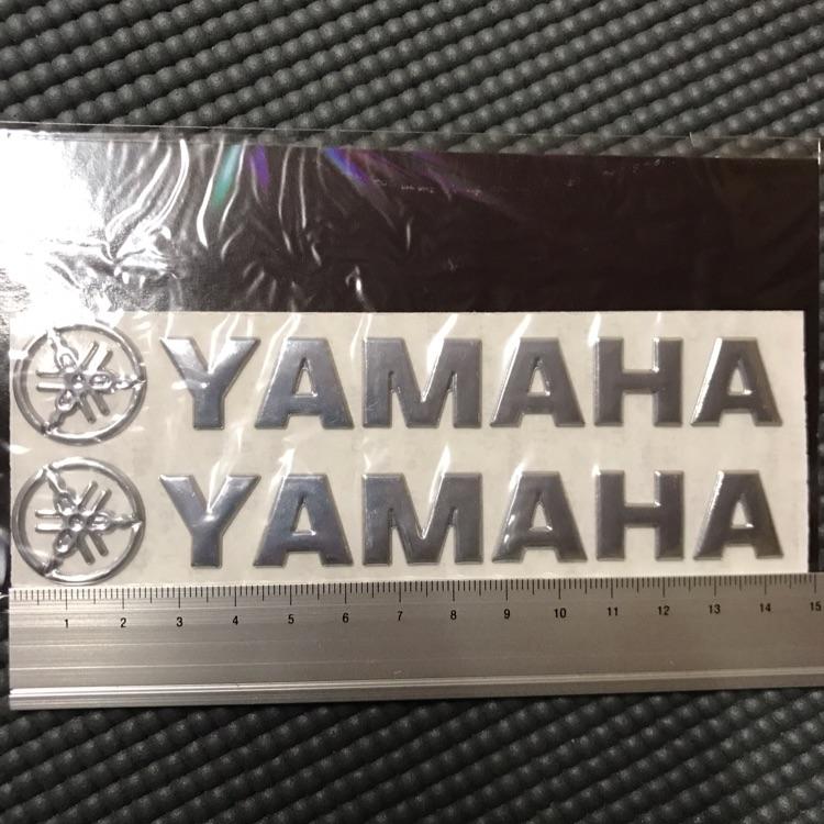 YAMAHA 3Dステッカー