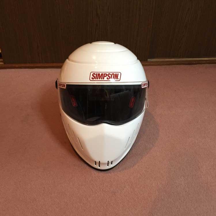 美品 SIMPSON シンプソン ヘルメット RX10