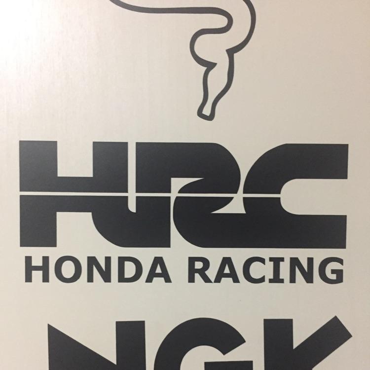 ホンダ HRCステッカー