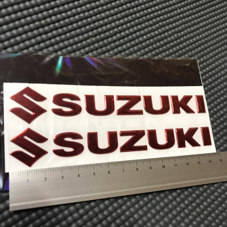 SUZUKI 3D ステッカー