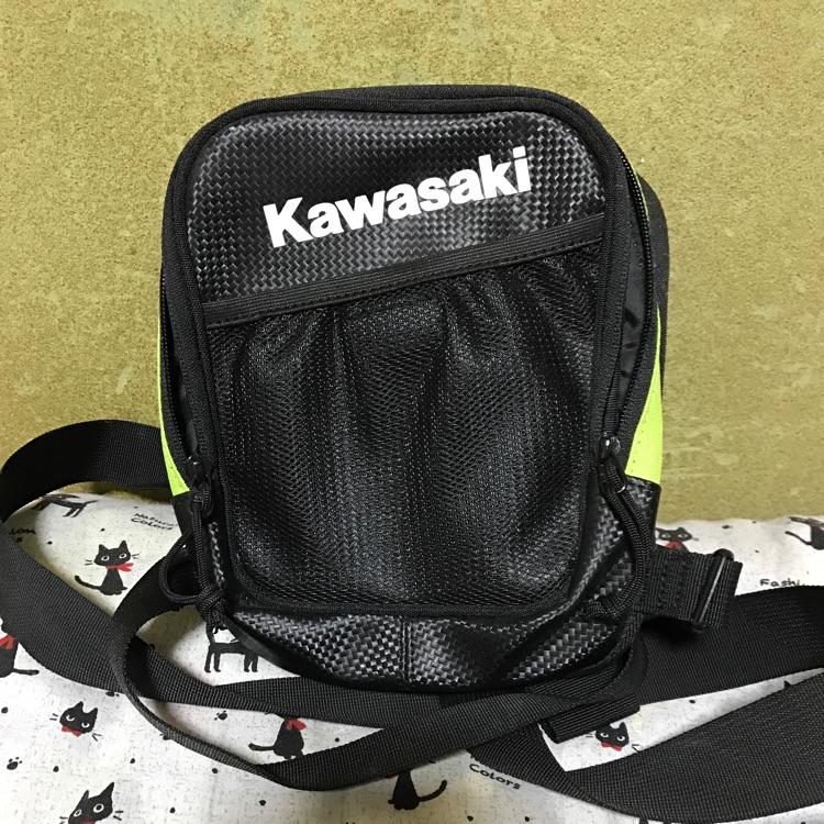 値下げ!!未使用品  Kawasakiホルスターバック