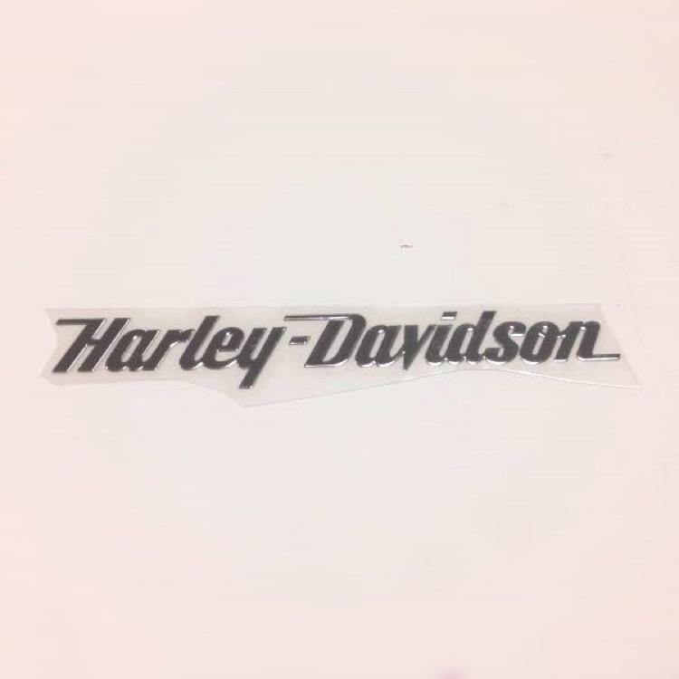 B1 ハーレー メタル ステッカー 15✕2.1cm