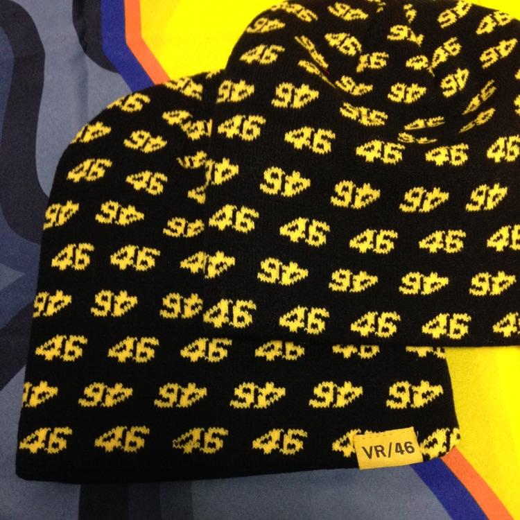 VR46ニット帽 46464646