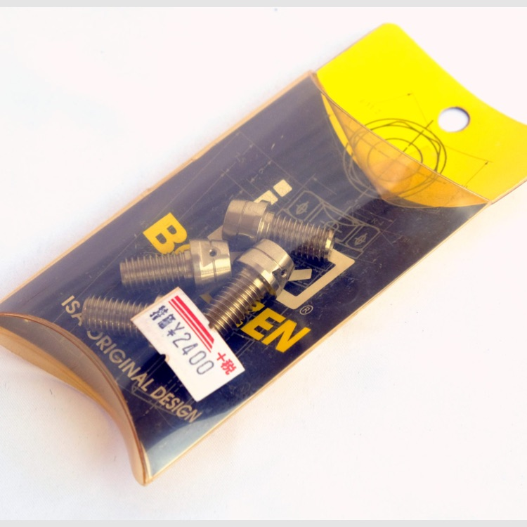 ISA キャップボルト M8 x 15 x P1.25 4個 ステンレス