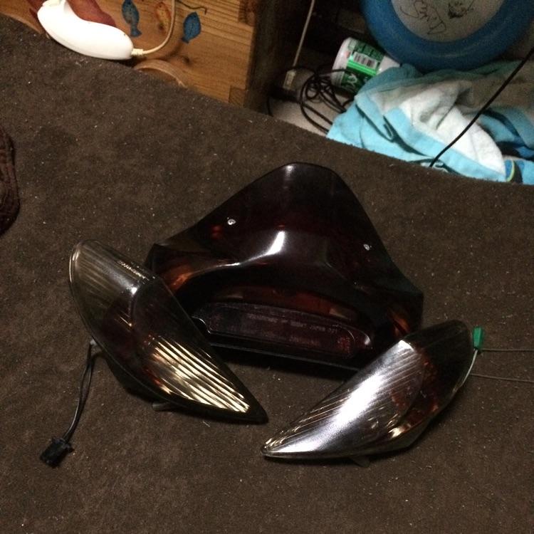 アドレスv125Gスモークウィンカー テールランプ