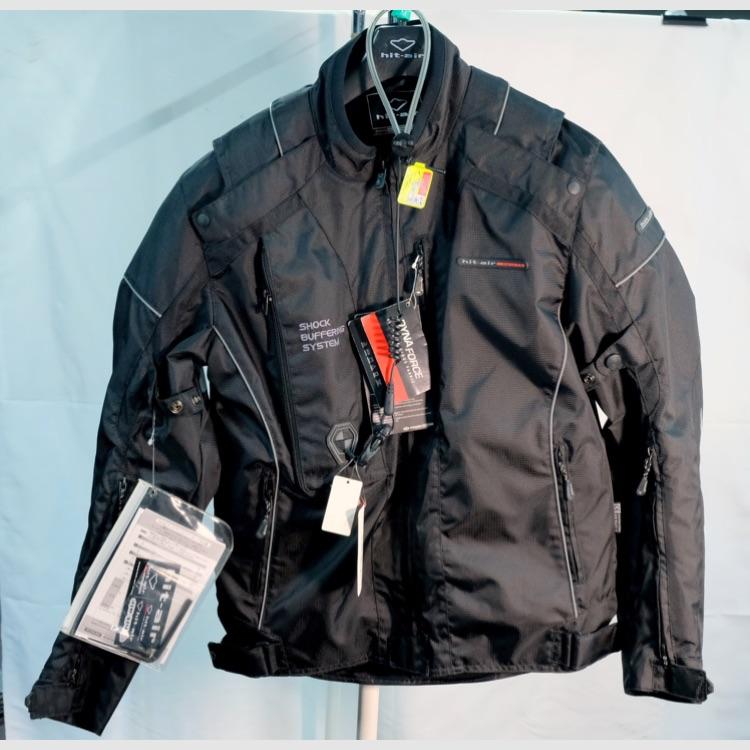 HIT AIR/エアバッグジャケット M HS5 BLACK【20%OFF】