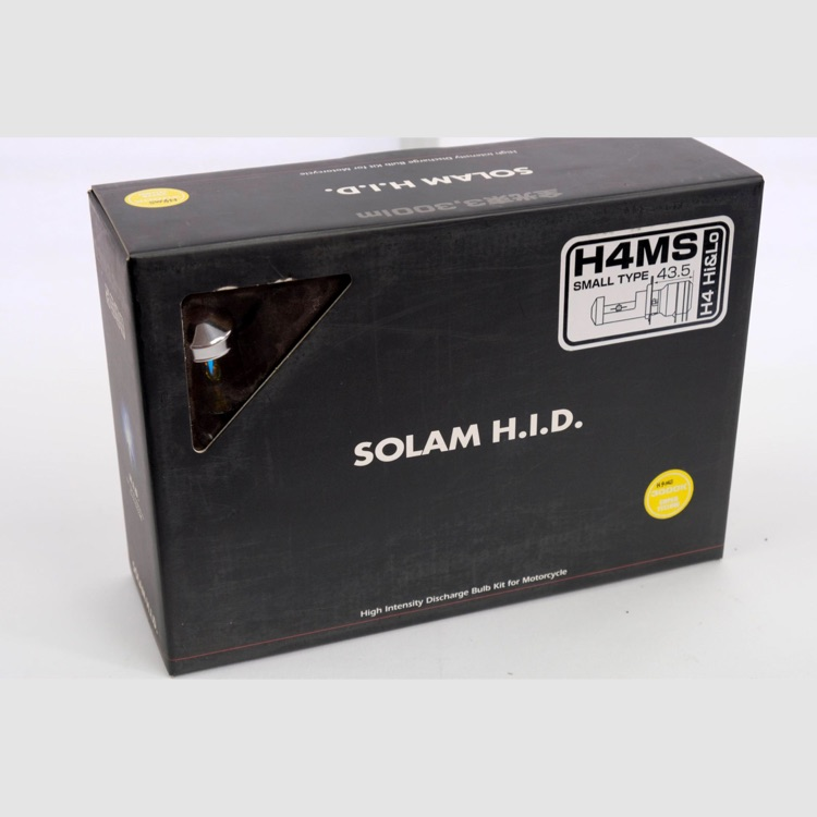 H.I.D.   SOLAM HID H4MS HI/LOW切替式 35Wバルブ 3000K
