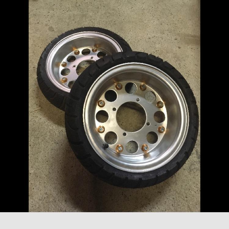 モンキー タイヤ&ホイールセット8インチ