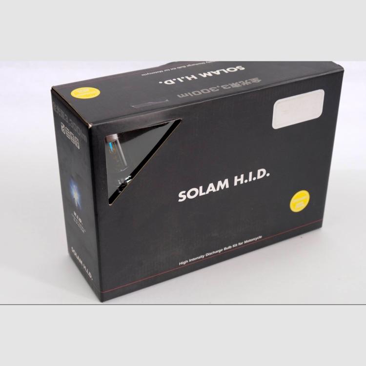 H.I.D.   SOLAM HID H4 HI/LOW切替式 35Wバルブ 3000K