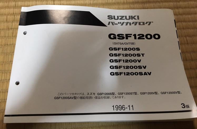 GSF1200 パーツリスト