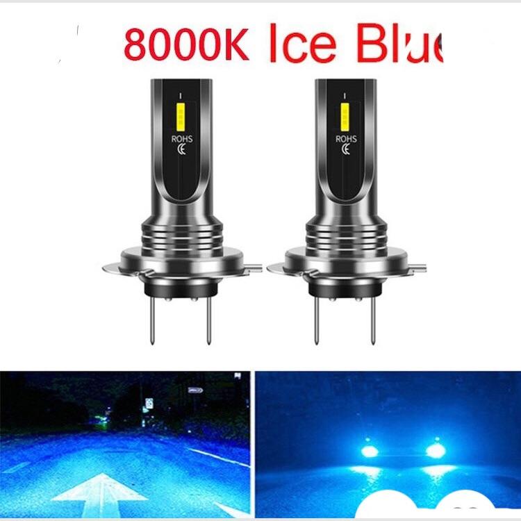 LED ヘッドライト フォグライト 8000K アイスブルー 2個セット