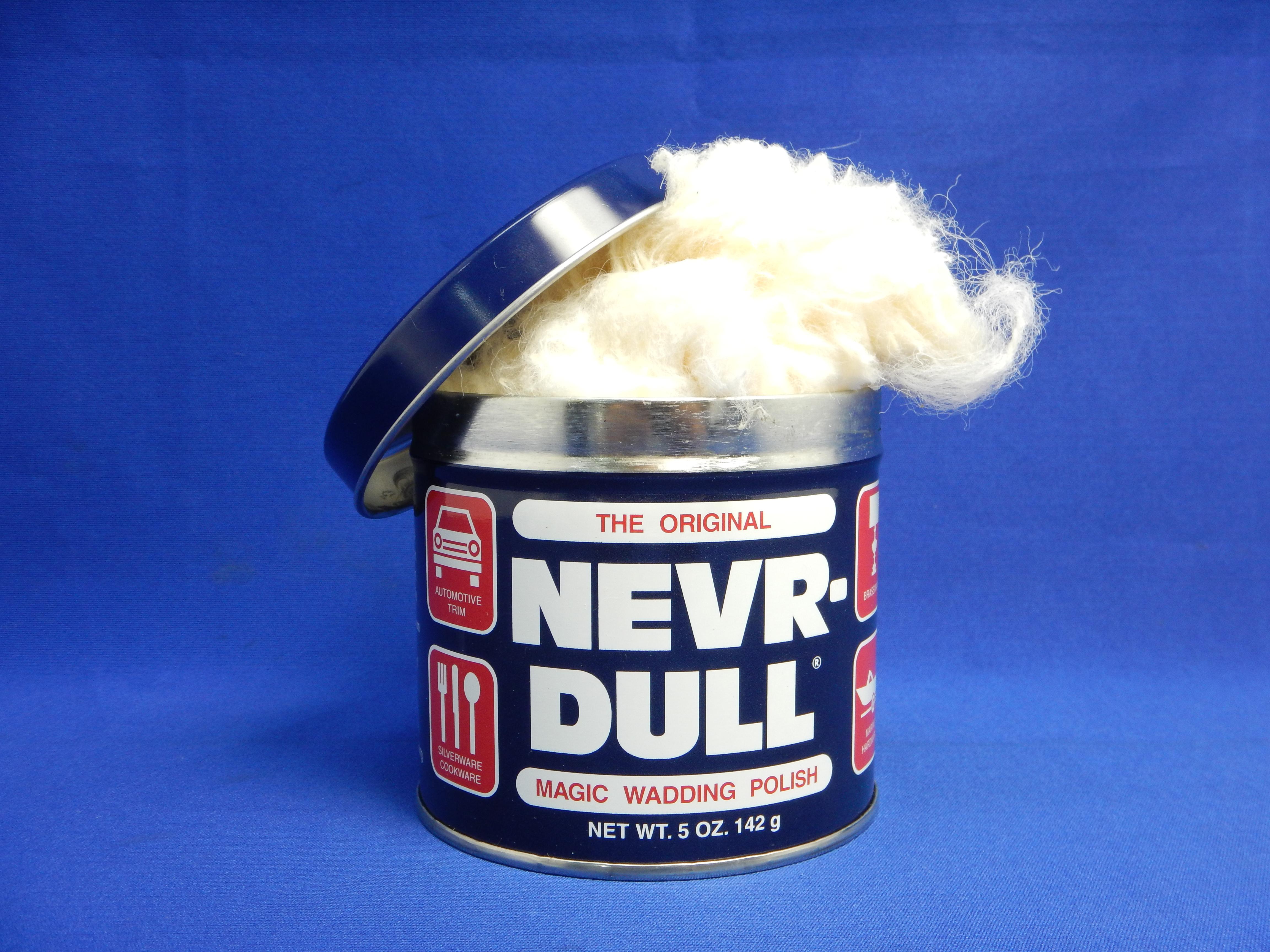 金属磨き・錆とりの定番商品 NEVR DULLネバダル