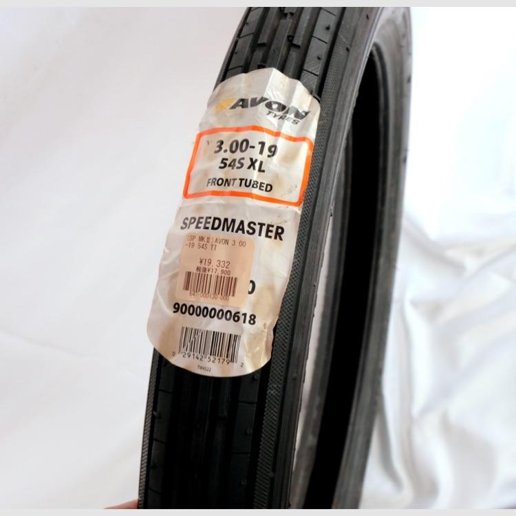 AVON FRONTタイヤ 3.00-19 54S XL SPEEDMASTER